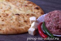 Осетинский пирог с мясом «Фыдджин»