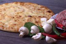 Осетинские пироги с мясом, грибами и сыром