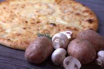 Осетинские пироги с картошкой и грибами